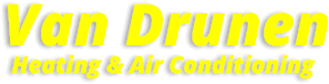 Van Drunen Heating & Air Conditioning Logo for furnace installation lansing