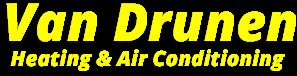 Van Drunen Heating & Air Conditioning Logo for furnace installation lansing