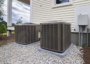 Lenox air conditioner in need of service by a Lansing air conditioning repair company.